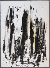 琼安•米契儿 - 版画 - Trees (yellow)