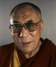 Chuck CLOSE - Estampe-Multiple - Dalai Lama