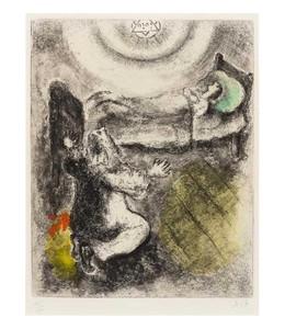 Marc CHAGALL - Print-Multiple - L'Enfant ressuscité par Élie