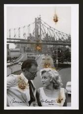 Bernard AUBERTIN - Painting - Arthur Miller e Marilyn brulés