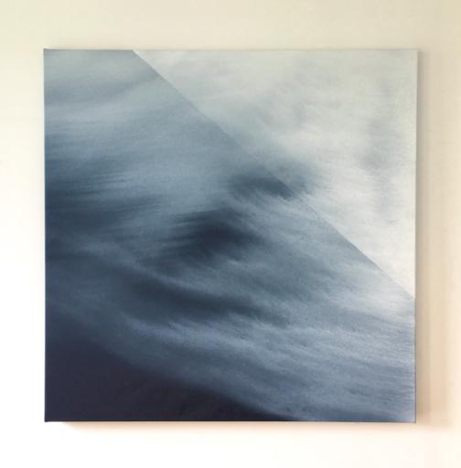 Guillaume COLUSSI - Painting - « Le carré chuté »