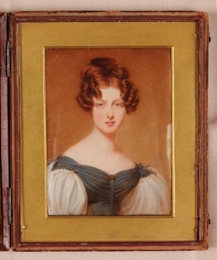 "William John NEWTON - Miniature - ""Portrait Miniature"", 1833"