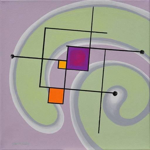 Istvan JARMECZKY - Painting - PERPETUM MOBILE 3