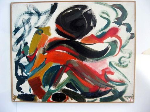 Jacques SIMON - Pintura - COMPOSITION