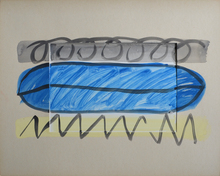 Alfonso HUPPI - Drawing-Watercolor - Passepartouts