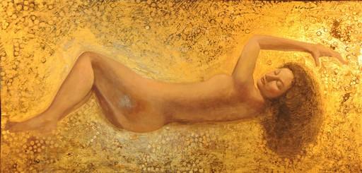 Bella MATVEEVA - Painting - Danae