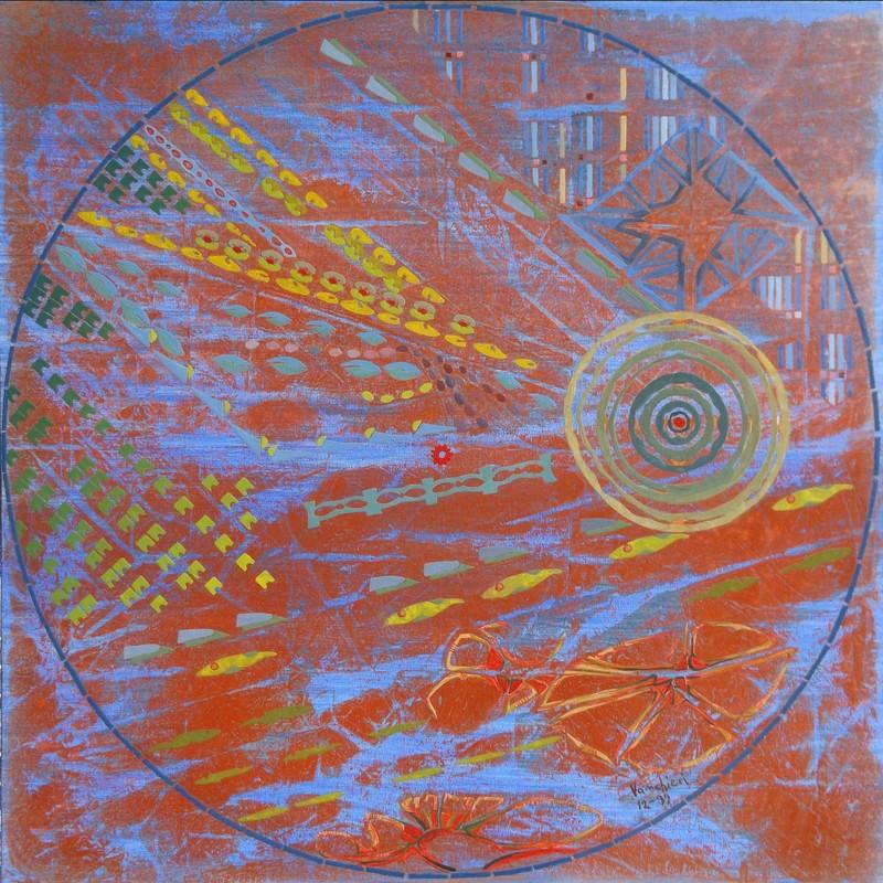 Carlo VANCHIERI - Peinture - La Terra