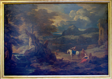Pieter II MULIER - Pintura - Paysage