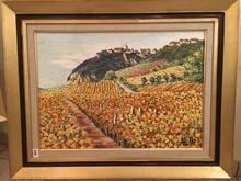 Raymonde AUBRY - Painting - Château-Chalon