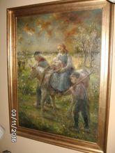 Herman JACOBS - Gemälde - Vlucht uit Egypte
