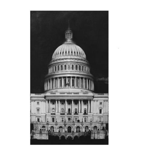 罗伯特•隆戈 - 版画 - Capitol Detail