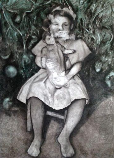Lyudmyla RAZBITSKAYA - Drawing-Watercolor - Alice in Wonderland 1    (Cat N° 5428)