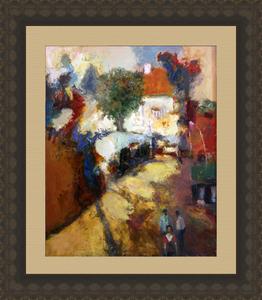 Levan URUSHADZE - Painting - Love triangle