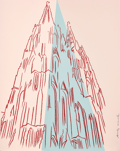 Andy WARHOL - Stampa Multiplo - Cologne Cathedral