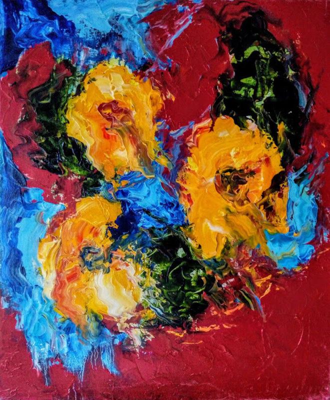 Theodora BERNARDINI - Painting - Extase