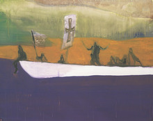 Peter DOIG - Grabado - Untitled (Canoe)