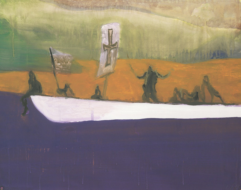 Peter DOIG - Estampe-Multiple - Untitled (Canoe)