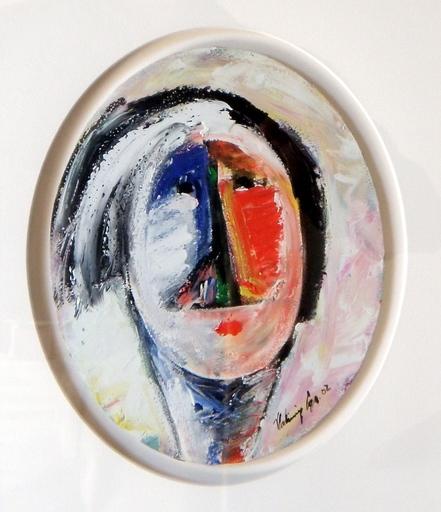 Vladimir CORA - Pintura - Cabeza en ovalo I