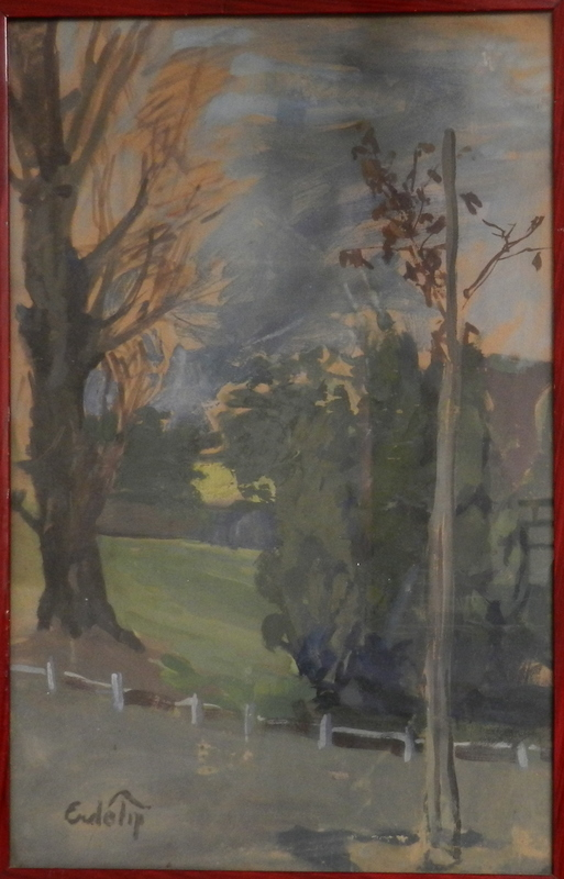 Bela ERDELYI - Gemälde - In the park