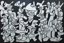 Jean DUBUFFET - Estampe-Multiple - Evocations