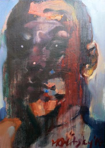 Maxim ORLITSKIY - Painting - Self-portrait