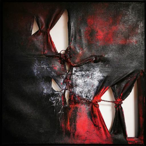 Elodie DOLLAT - Painting - Khostangel I