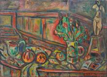 Pinchus KREMEGNE - Peinture - Still-life