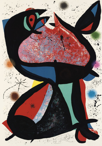 Joan MIRO - Estampe-Multiple - Nestor