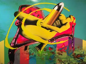 Marc FELTEN - Pintura - Orgasme
