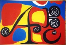 Alexander CALDER (1898-1976) - Les Lettres