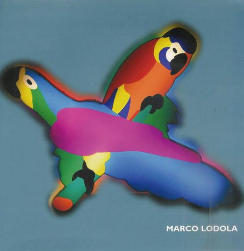 Marco LODOLA - Sculpture-Volume - Pappagalli