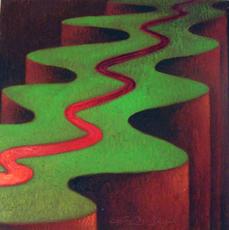 Giovanni BOFFA - Painting - La traccia