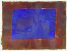 Howard HODGKIN - Print-Multiple - Blue Listening Ear