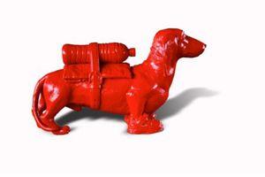 William SWEETLOVE - Estampe-Multiple - Cloned red teckel with water bottle