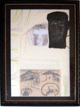 Mimmo PALADINO - Peinture - Senza Titolo 1990