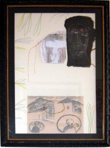 Mimmo PALADINO - Gemälde - Senza Titolo 1990