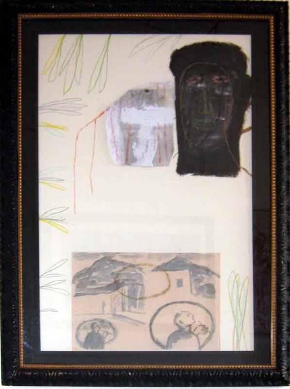 米莫·帕拉迪诺 - 绘画 - Senza Titolo 1990
