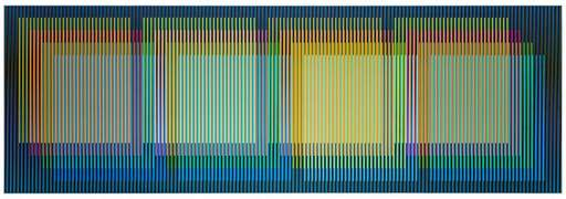 Carlos CRUZ-DIEZ - Pittura - Color aditivo yuruani