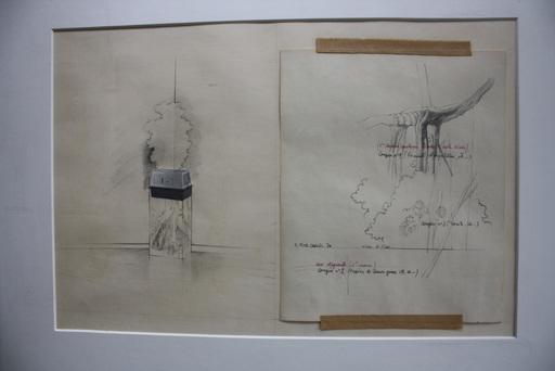 Gérard TITUS-CARMEL - Drawing-Watercolor - Eau stagnante 2ème nuance