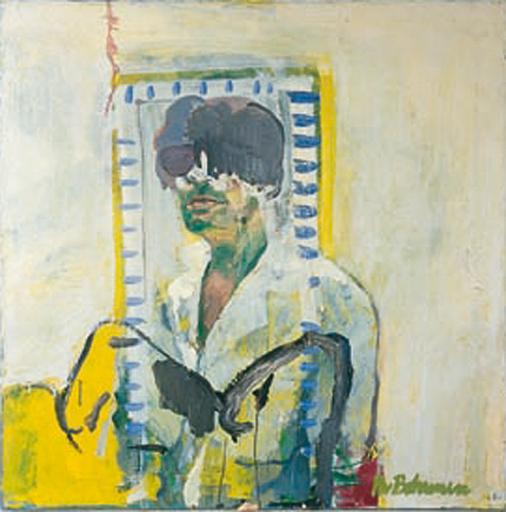 Kees BOHEMEN VAN - Pintura - Zelfportret