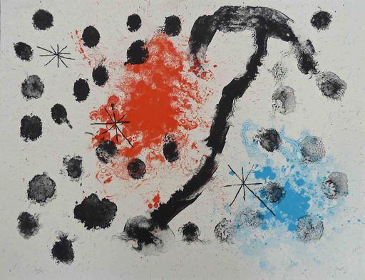 Joan MIRO - Estampe-Multiple - Plate XI, from: Album 19