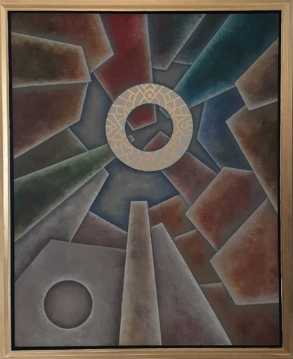 Alexander NIKOLENCO - Painting - Ring of power