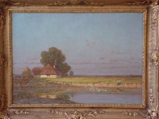 Márk RUBOVICS - Painting - Landscape