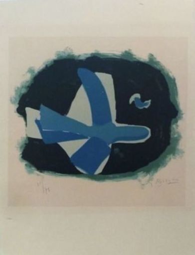 Georges BRAQUE - Print-Multiple - Oiseau des Forêts