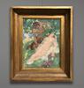 Auguste LEROUX - Gemälde - Satyre et Nymphe