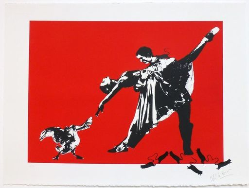 BLEK LE RAT - Estampe-Multiple - Le Dernier Tango à Paris