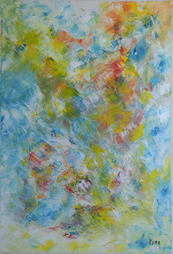 Kyna DE SCHOUEL - Peinture - Miroir d'eau