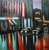 Valeriy NESTEROV - Painting - Solyanka street. Moscow