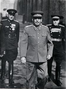 Vladimir MUSINOV - Fotografia - Stalin and generals, May 1945.