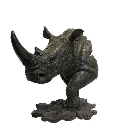 Pierre-Jean CHABERT - Escultura - Rhino blanc